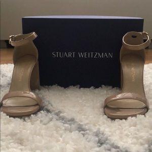 Stuart Weitzman Nearly Nude Sandal Sz 6